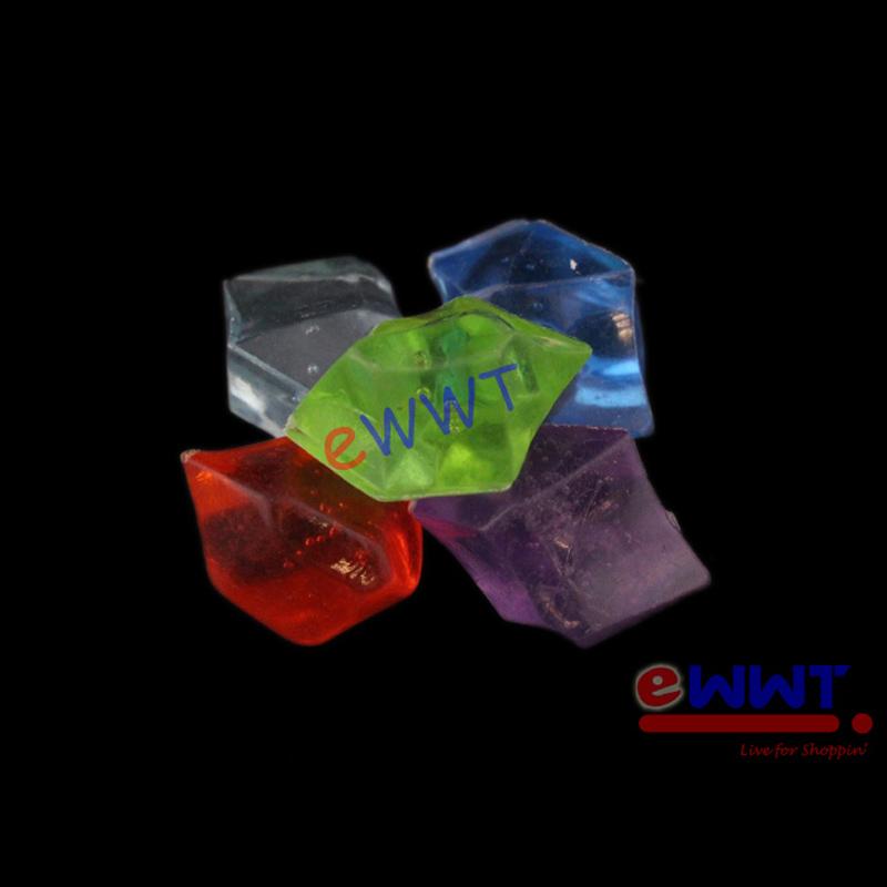 30pcs acrylic colorful gravel crystal for aquarium fish for Acrylic fish tank