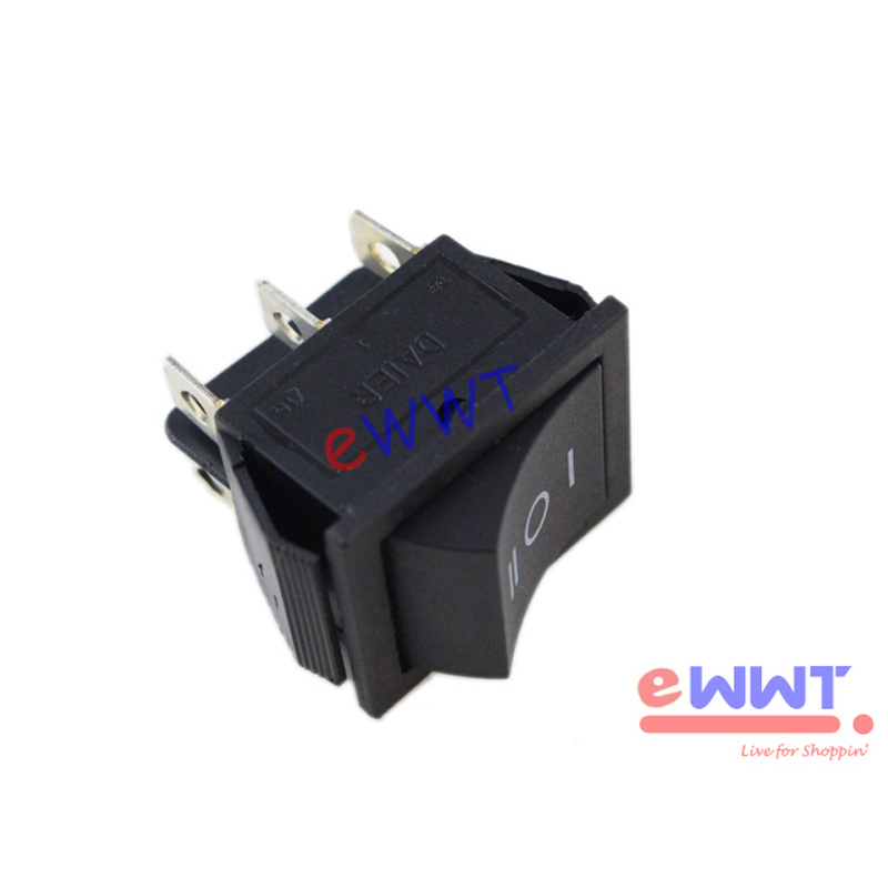 20a rocker switch polarity reverse dc motor control for Electric motor reversing switch