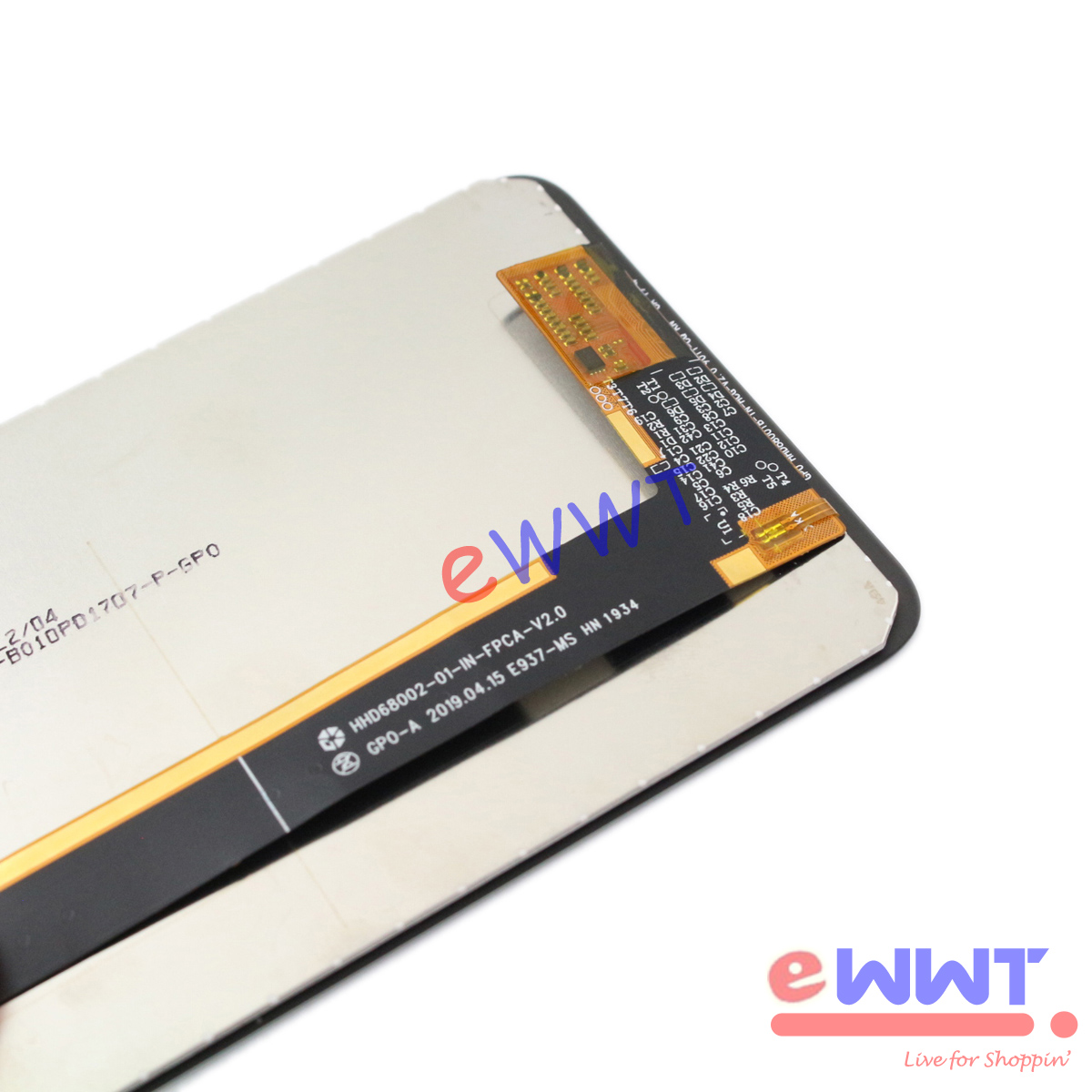 """thumbnail 5 - Original Black LCD Display w/ Touch Screen+Tool for Cubot Max2 6.8"""" 2019 ZJLQ940"""