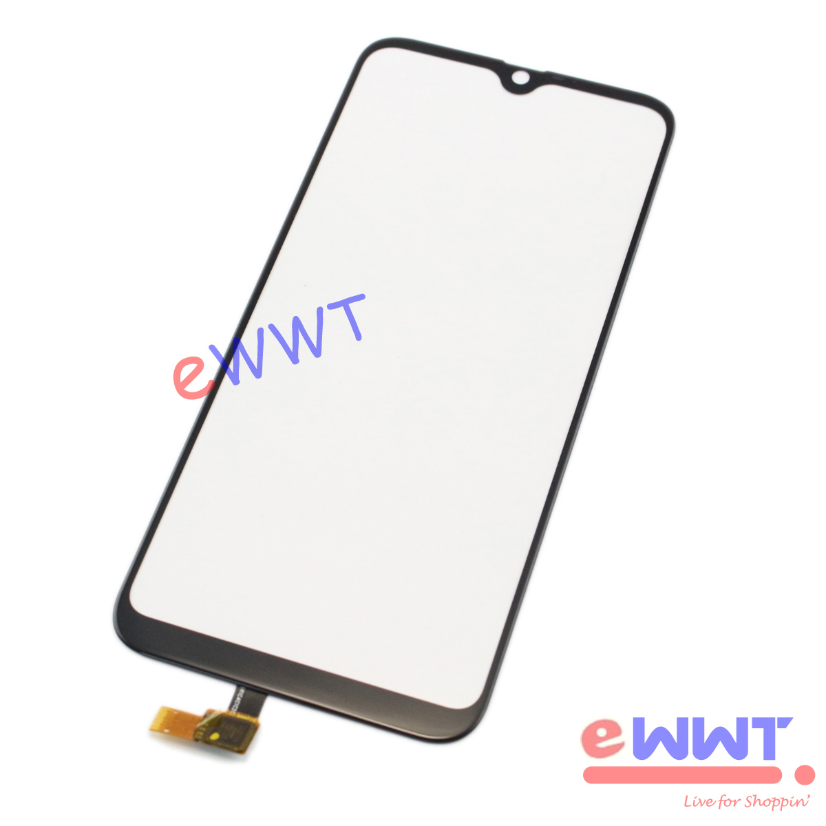 """thumbnail 2 - Replacement Black Touch Screen Glass + Glue for Cubot R15 Dual Sim 6.26"""" TJLU914"""