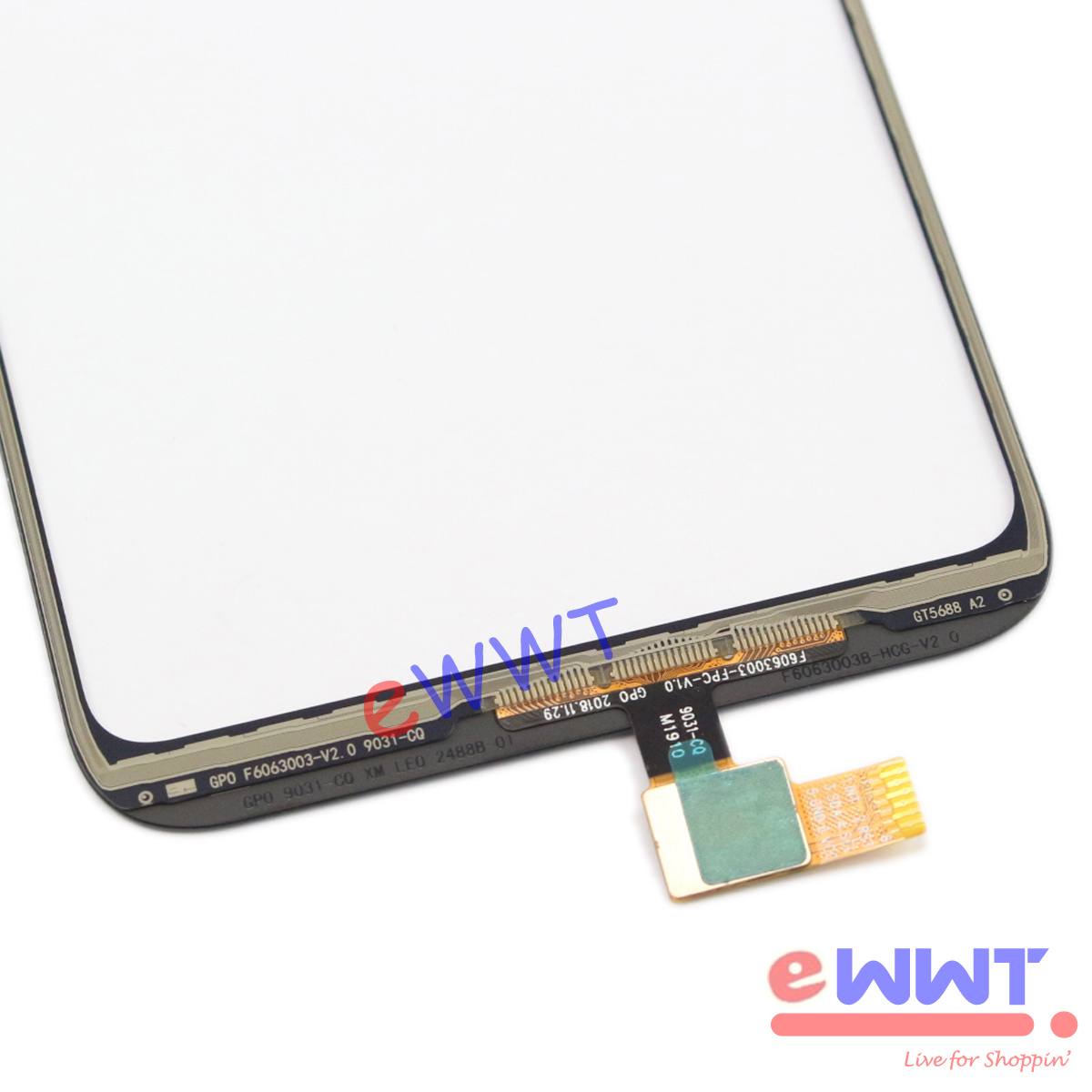 """thumbnail 5 - Replacement Black Touch Screen Glass + Glue for Cubot R15 Dual Sim 6.26"""" TJLU914"""