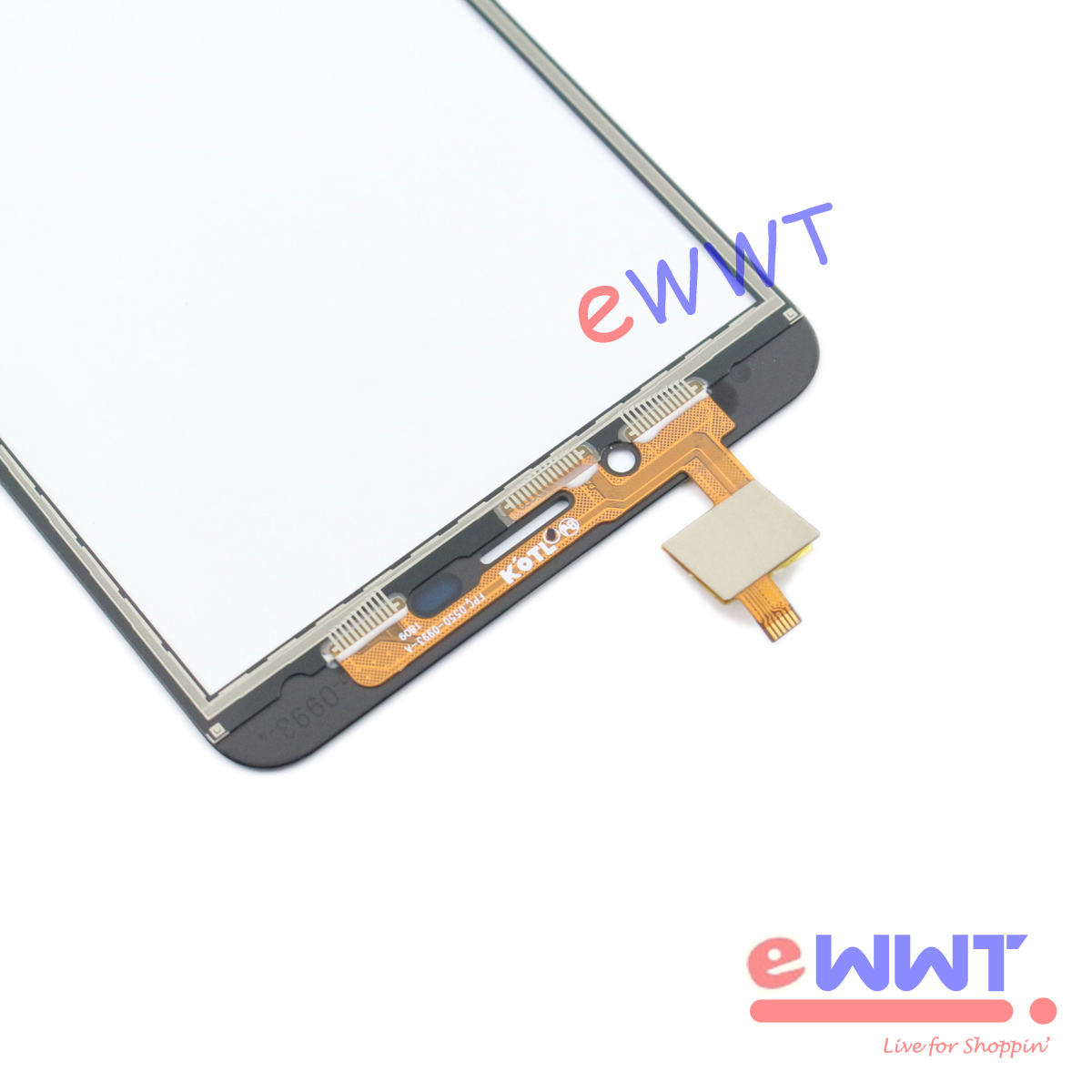 """thumbnail 5 - Replacement Black Touch Screen Digitizer +Tools for Cubot Nova 5.5"""" 2018 TJLU847"""