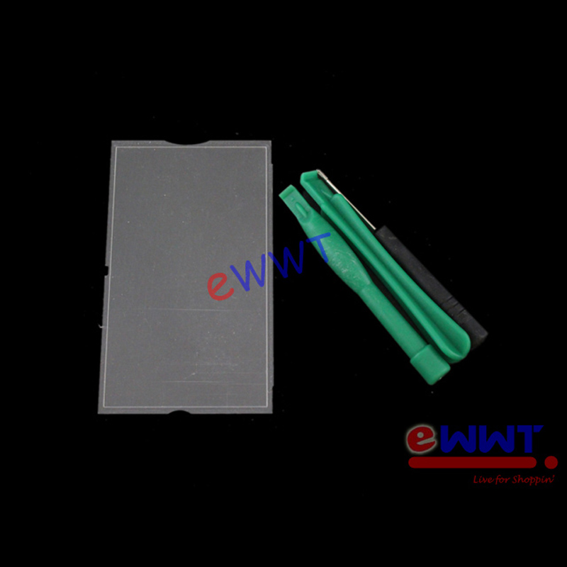 Replacement-Housing-Front-Cover-Lens-Glass-Tool-for-PSP-3000-3001-Slim-ZVGS072