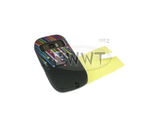FREE-SHIP-for-Nokia-C7-00-Printed-Meteor-Silicon-Skin-Cover-Case-Film-ZVSF094