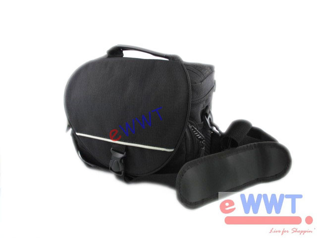 Black-Nylon-DSLR-Camera-Pouch-Case-Bag-for-Nikon-D80-D90-D200-D300-D300s-ZVDO028