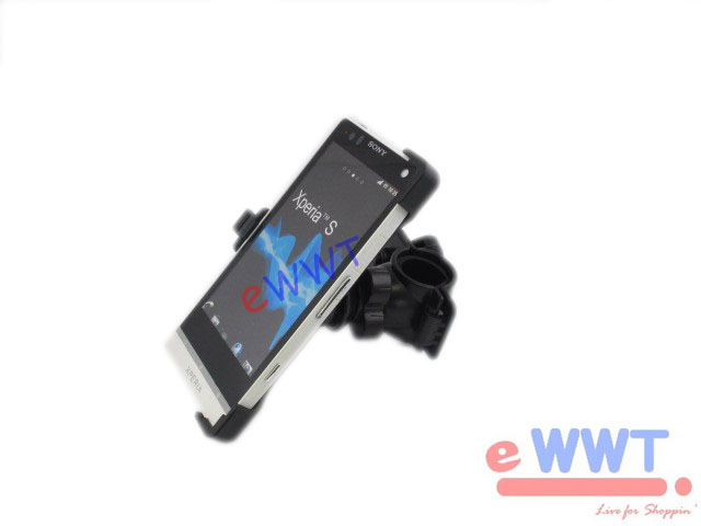 Bike-Bicycle-Handlebar-Mount-Holder-for-Sony-Ericsson-Xperia-S-NX-LT26i-ZVMT052