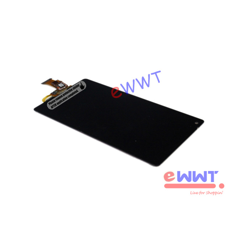Xperia Zl Black Screen Replacement Black LCD ...
